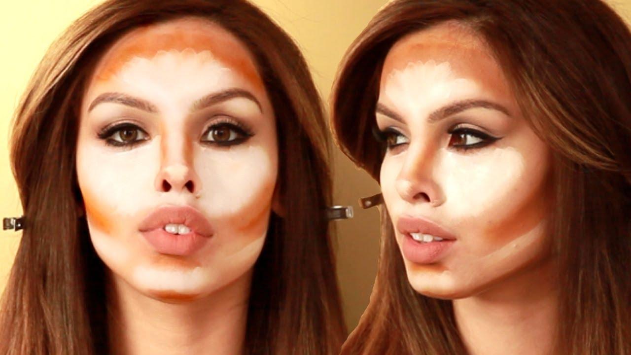 How to kim kardashian contour and highlight tutorial youtube baditri Gallery