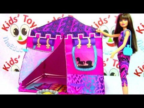Barbie Sisters Safari Tent Barbie Life in the Dreamhouse