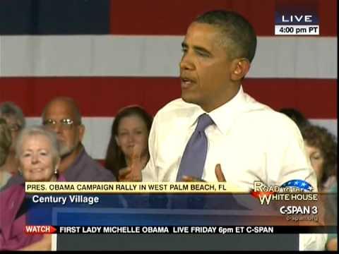 President Obama In West Palm Beach - 2012-07-19