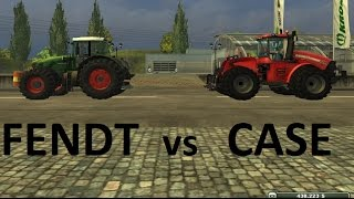 Farming Simulator: CASE IH Steiger 600 vs FENDT 936 Vario [Power Test]