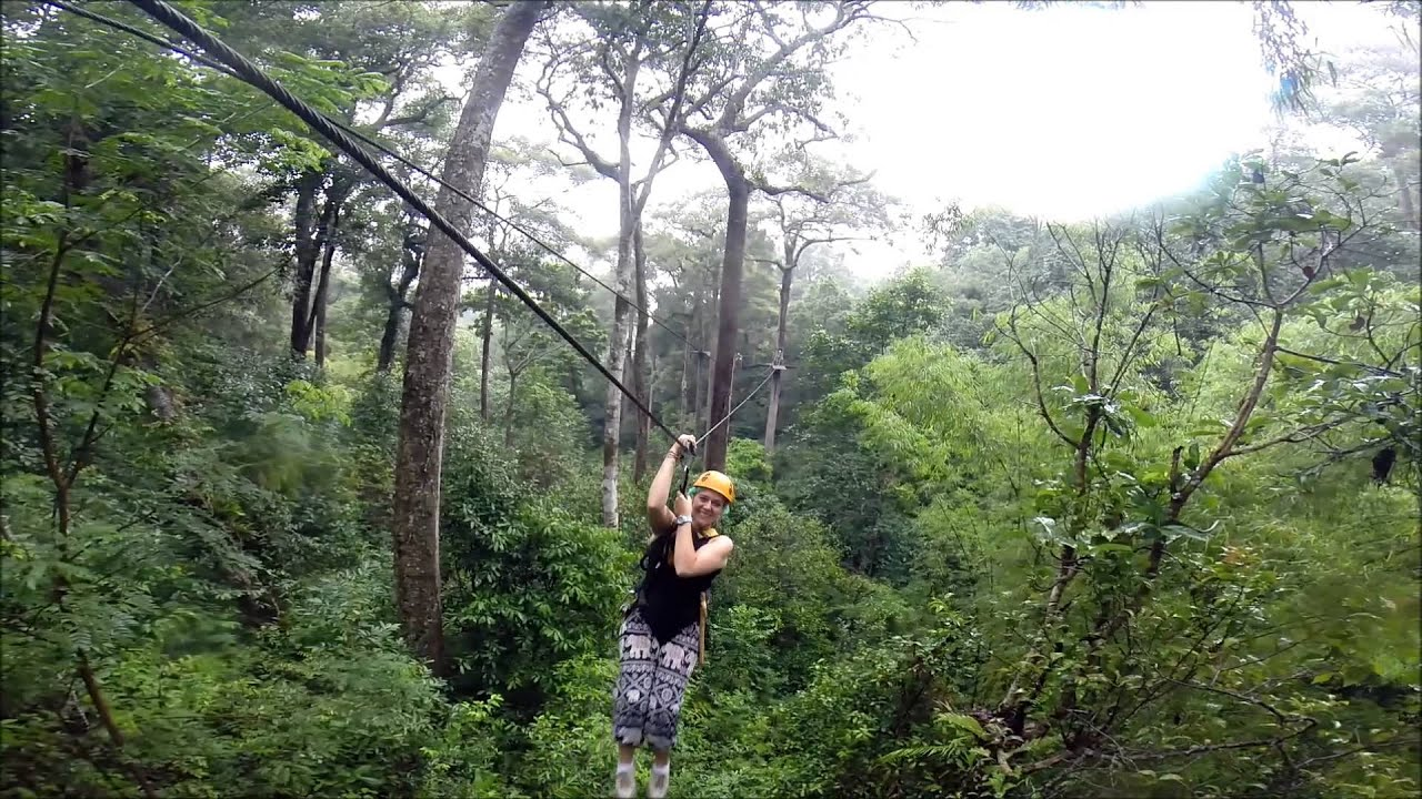 Jungle Flight Zip Line Adventure and Canopy Tour Chiang ...