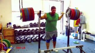 800 pound / 363 kg Squat  - ATG 100% RAW