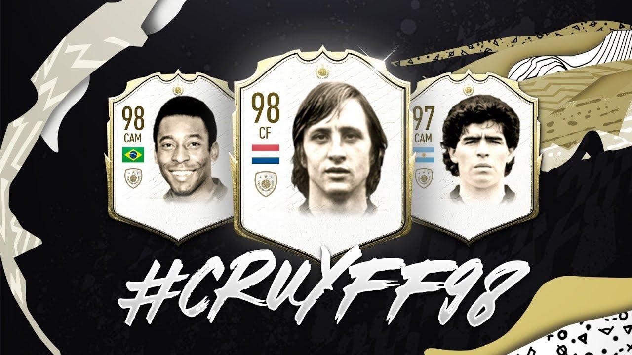 Johan Cruyff Moet 98 Rated Zijn In Fifa20