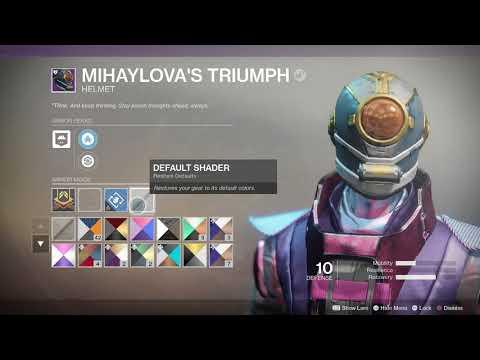 Destiny 2 Warmind Upgrade Mihaylova Triumph Helmet