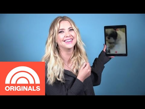 Ashley Benson FaceTimes Her Dogs And Explains How They Ease Her Anxiety | My Pet Tale | TODAY