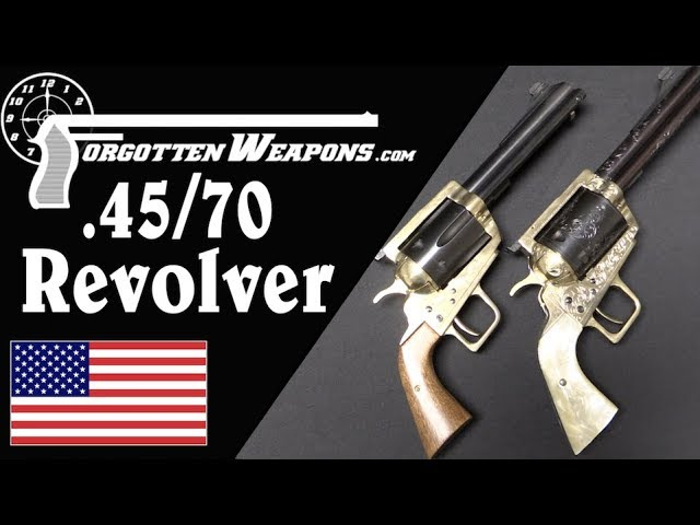 Ludicrously Huge 45 70 And 50 70 Revolvers Youtube