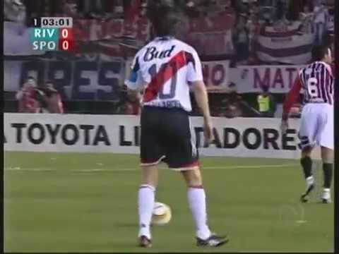 River Plate  2X3 São Paulo - Semi Final  Libertadores 2005 - JOGO COMPLETO