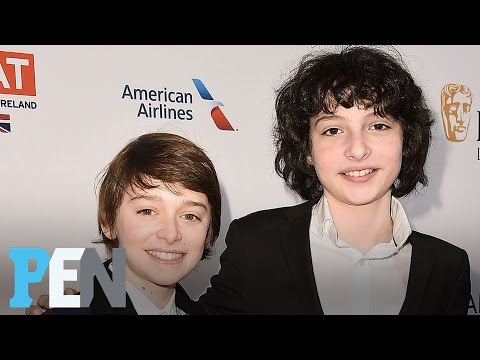 Thumbnail: Stranger Things: Noah Schnapp & Finn Wolfhard On Their Golden Globes Excitement | PEN | People