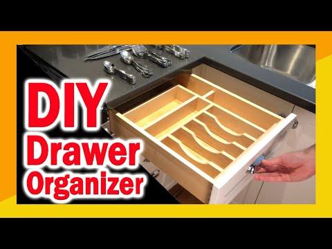 DIY Drawer Organizer Build for Kitchen Remodeling