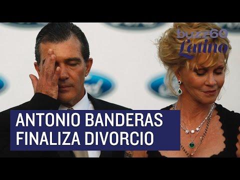 Antonio Banderas y Melanie Griffiths finalizan su divorcio