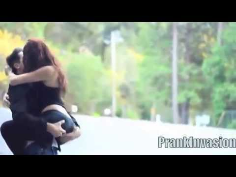 Kissing Prank - Hand Switch