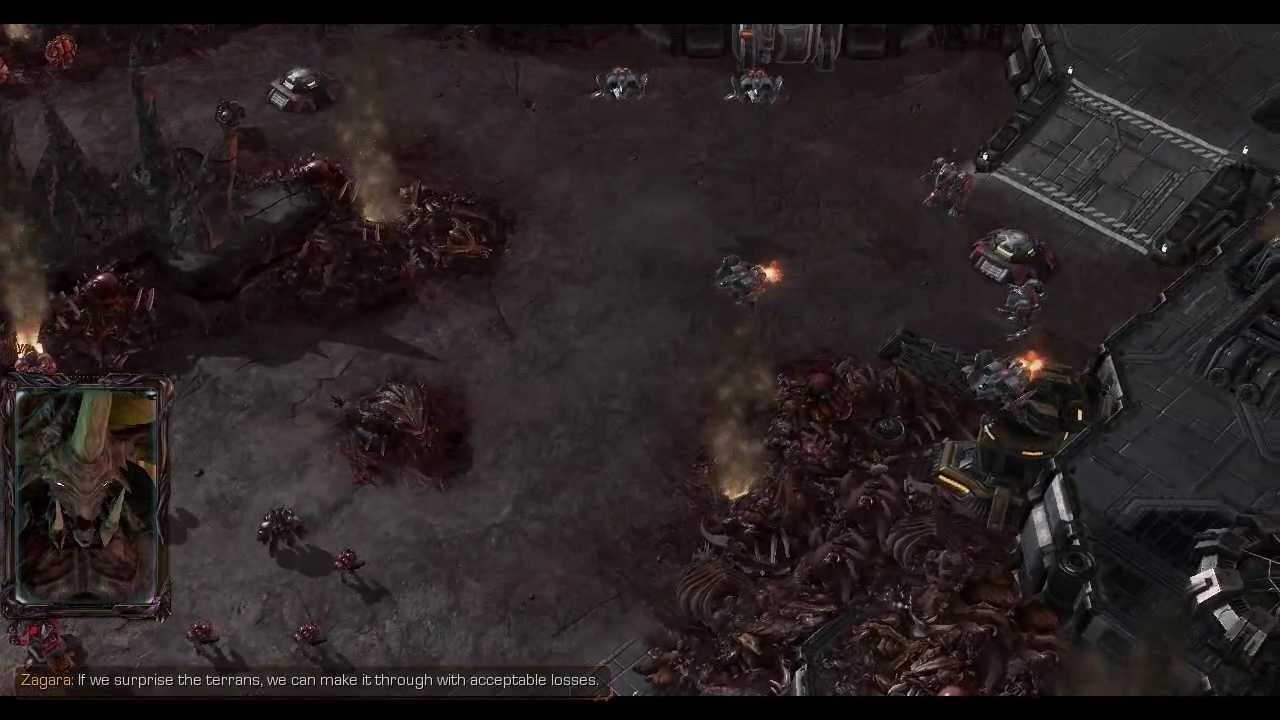 heart of the swarm story