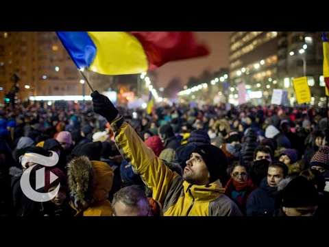 Protests in Romania Spur a Turnaround | The New York Times