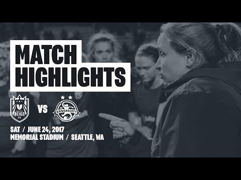 Highlights: Seattle Reign FC vs FC Kansas City // June 24, 2017