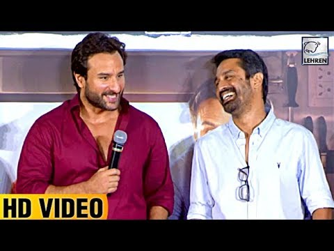 Thumbnail: 'Kareena Doesn't Let Me Cook' Says Saif Ali Khan | Chef Trailer Launch | LehrenTV