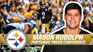Rudolph  'Always been confident in myself' | Pittsburgh Steelers