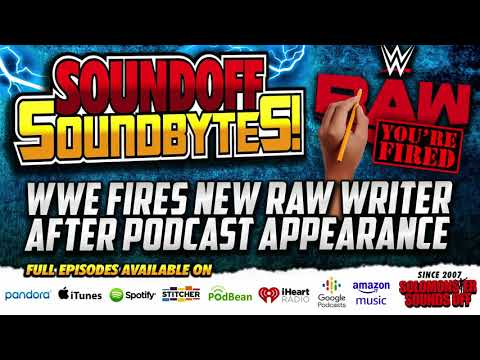 Download WWE FIRES New Monday Night Raw Writer After Podcast Appearance