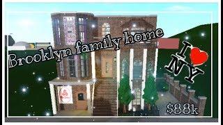 Brooklyn Family Home $88k (Roblox)(Bloxburg)