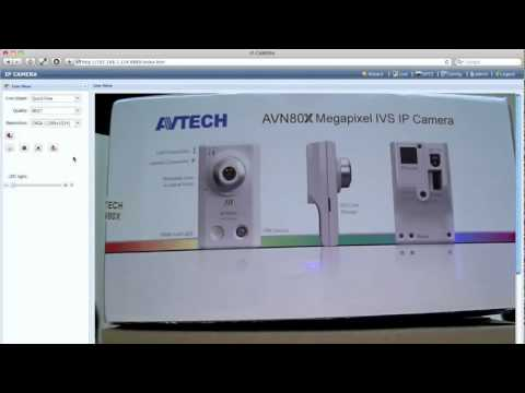 AVTECH AVN80X IVS IP Camera Review