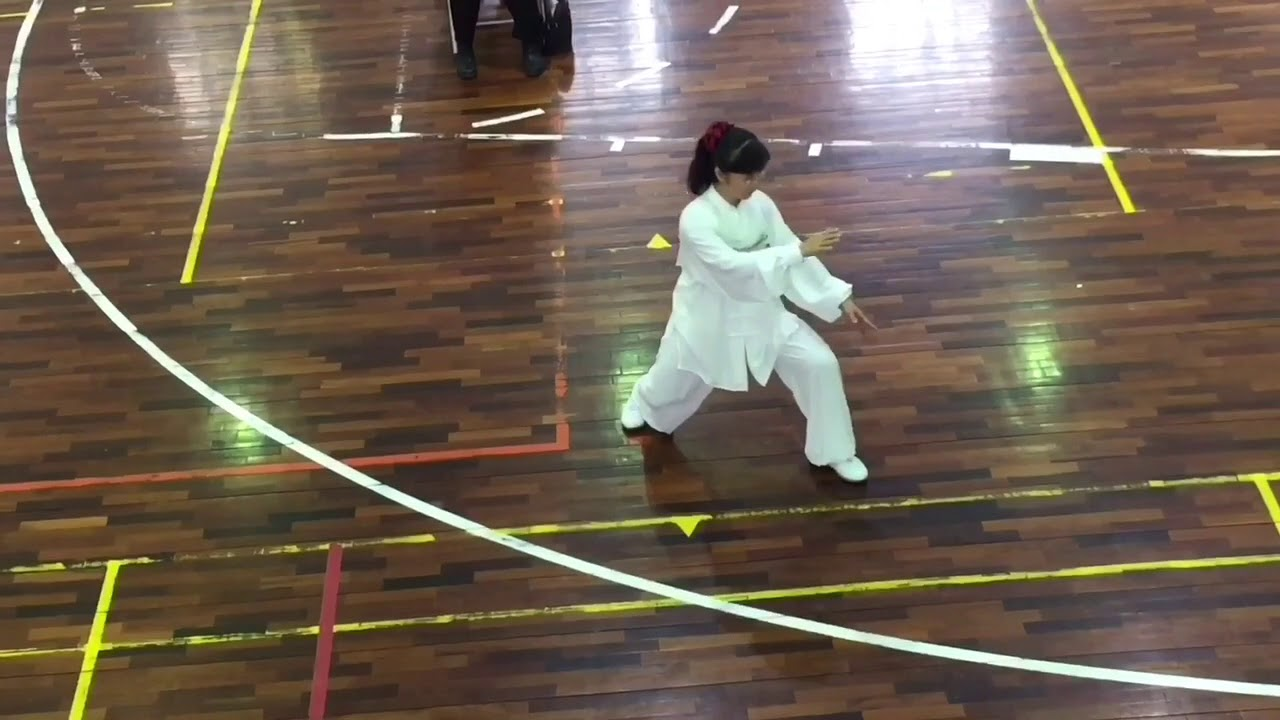 105年全民運動會-99式太極拳第一名盧梅華(興大惠蓀埸) - YouTube