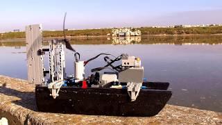 [MOC] Lego Boat Prototype V2 - Test - With SBrick