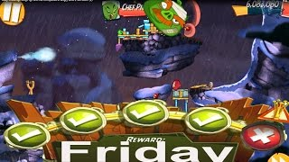 Daily Challenge King Pig Panic No Completed in Angry Birds 2 FRIDAY2