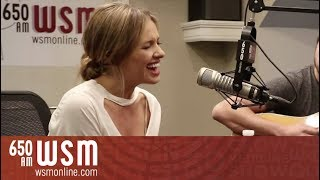 "Carly Pearce performs ""Every Little Thing"" LIVE in-studio on Coffee..."