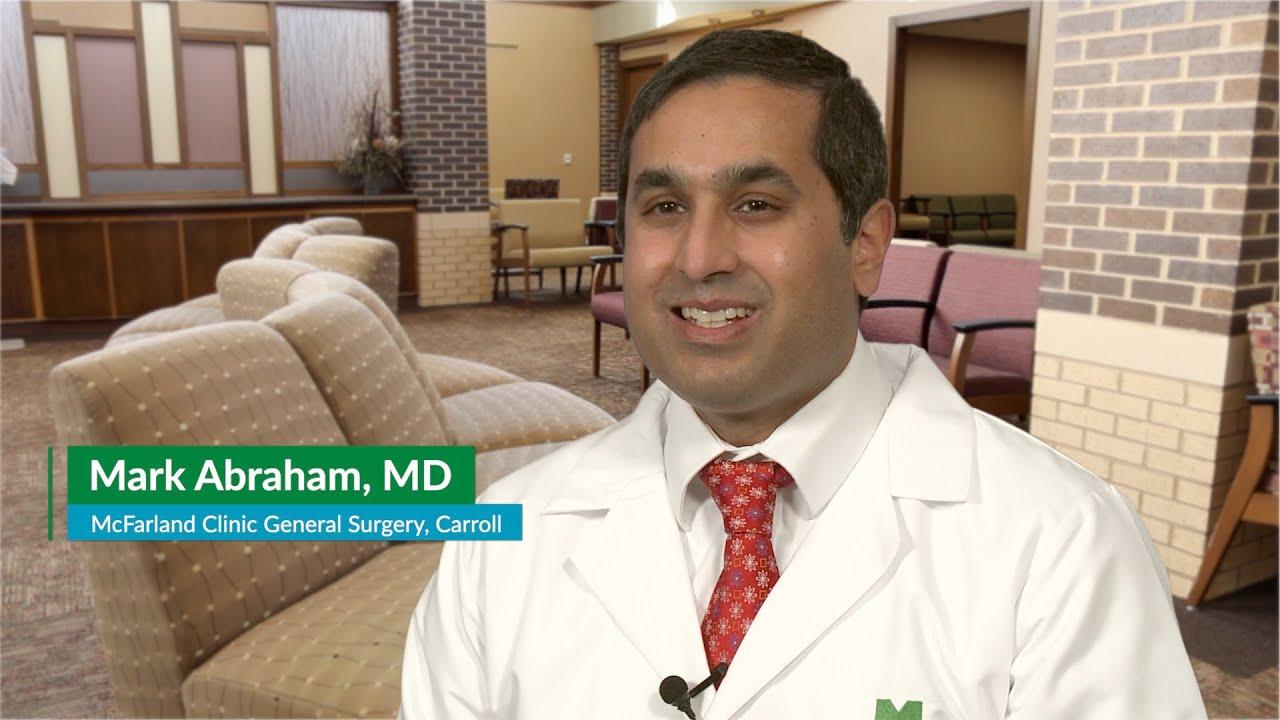 Mark Abraham, MD – General Surgeon in Carroll, Iowa | McFarland Clinic