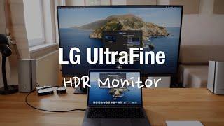 LG UltraFine 4K Monitor für Apple Mac (USB-C, HDR, 32UN88A)