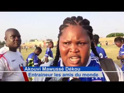 Le football féminin au Togo (vidéo)