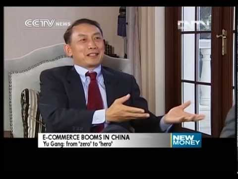 CCTV New Money-Yu Gang, Chairman and founder of Yihaodian Company, from Zero to Hero. Sept 29, 2013