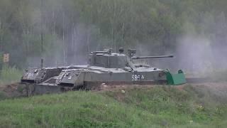Боевые стрельбы подразделения ВДВ