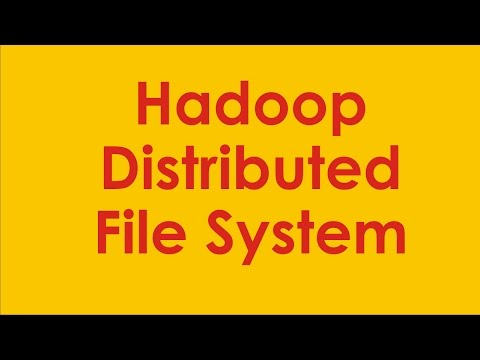 Hadoop Distributed File System Architecture - Introduction to HDFS - What is HDFS