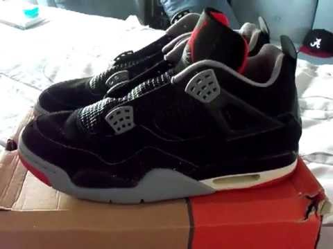 Air Jordan IV Retro Bred Cement 99 Restoration Project