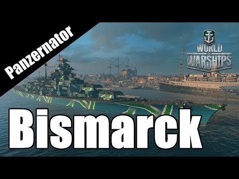 All the Kill Steals! Bismarck gameplay - World of Warships