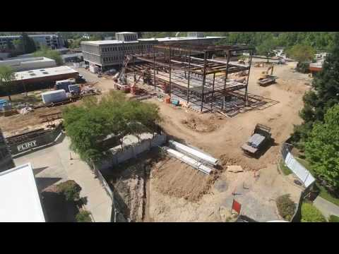 Timelapse of New American River College STEM Building