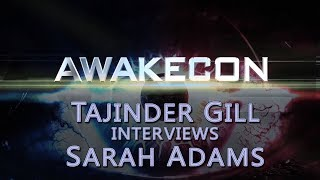 AwakeCon 2017 - Taj interviews Sarah Adams