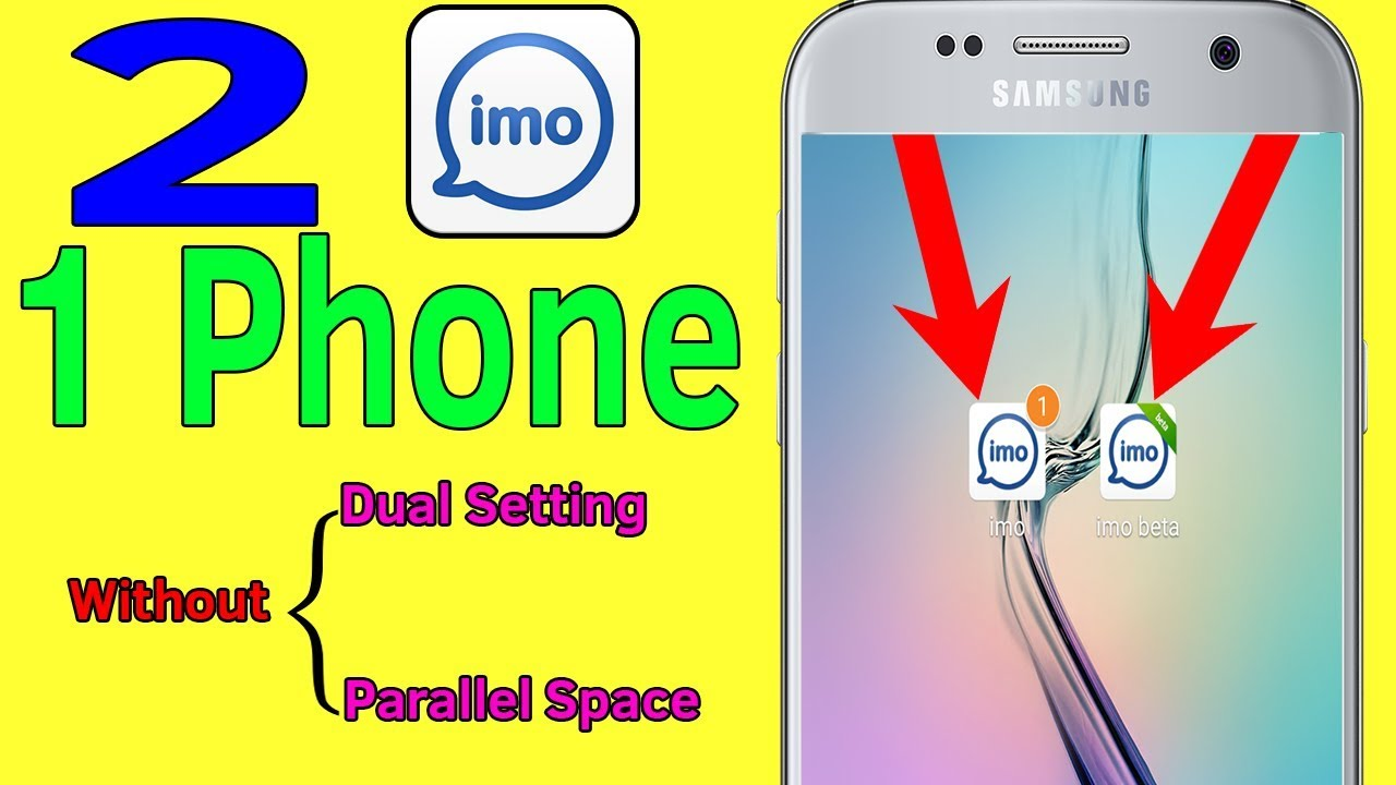 imo Beta   2 imo 1 mobile   How To Use Two imo Apps In 1 Android Phone -  Helping Mind