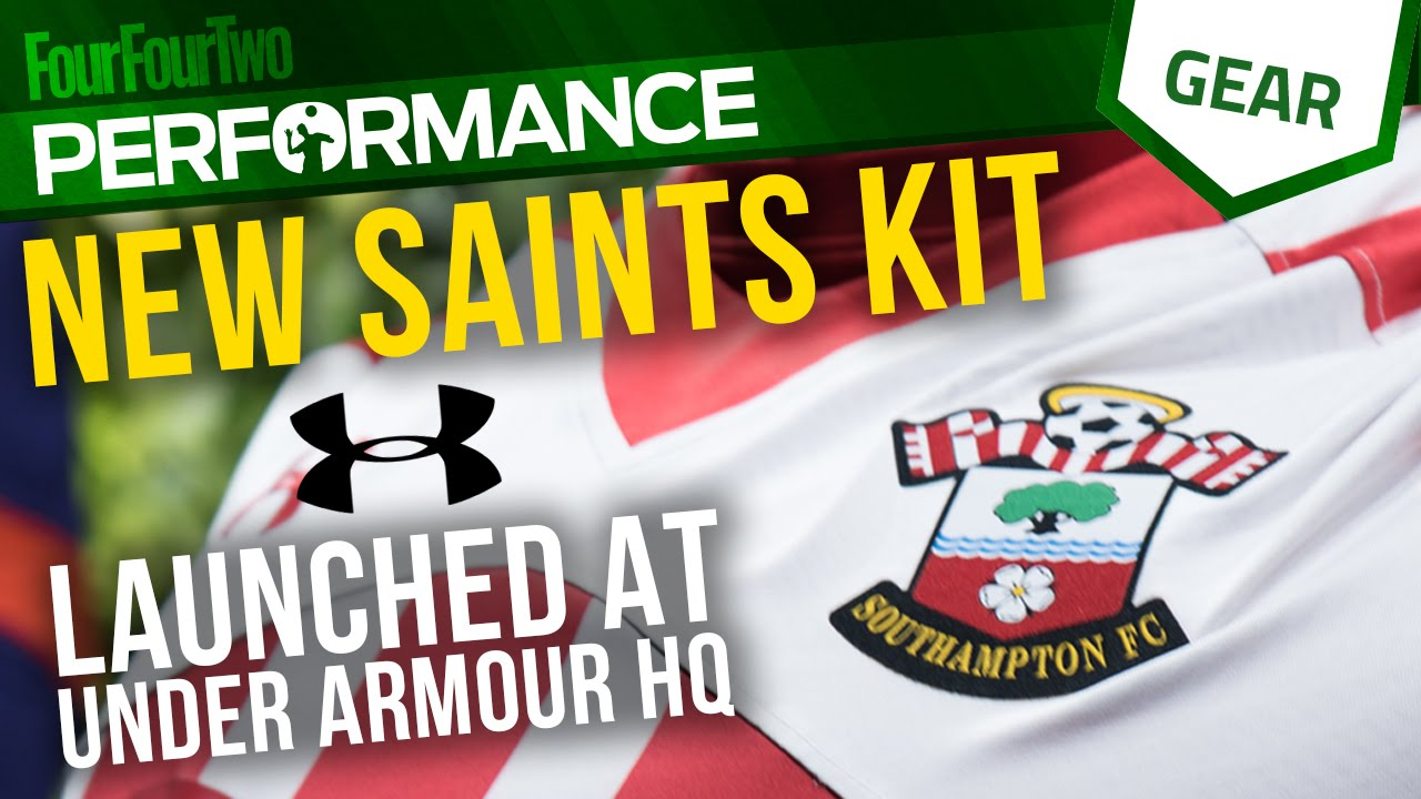 4e2a9dec5 Under Armour launch the new Southampton Home and Away Kit 16 17 ...