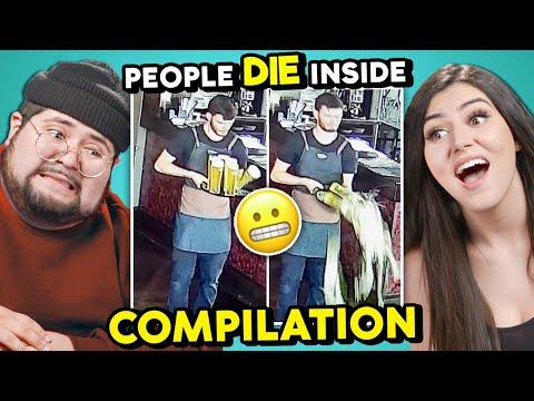 WATCH PEOPLE DIE INSIDE COMPILATIONS | College Kids React