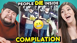 WATCH PEOPLE DIE INSIDE COMPILATIONS | College Kids React