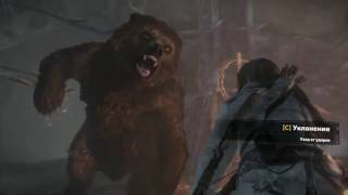 Rise of the Tomb Raider #4 охота на животных  прохождение