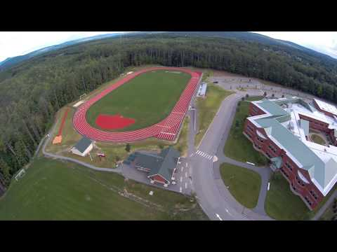 Upair One over Keene Middle School
