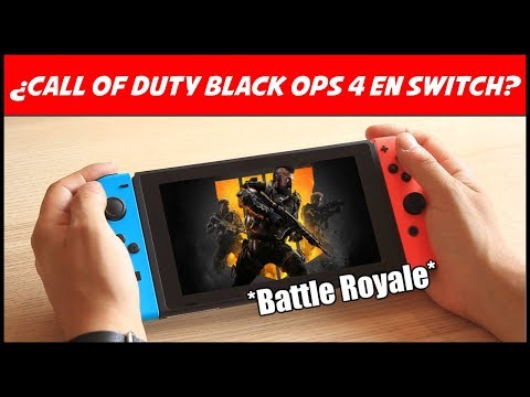 Call of Duty Black Ops 4 *Battle Royale* y Nintendo Switch