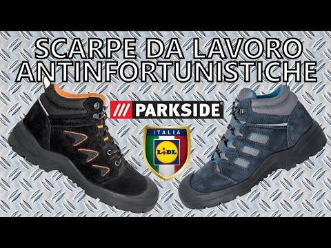 Scarpe da Lavoro Antinfortunistiche S3 Parkside LIDL 19,99 €