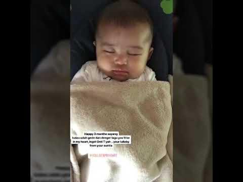 Finally…Baby RaphaelMoeis Tepat Berusia 3 bulan…