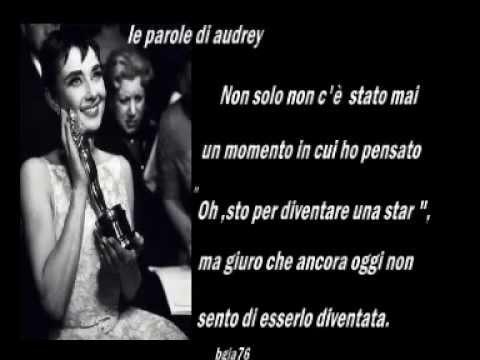 Le parole di Audrey Hepburn
