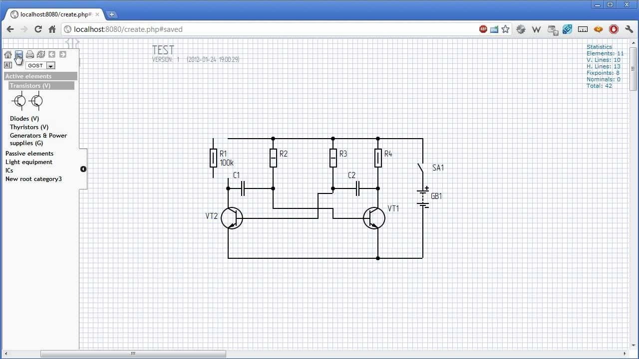Circuit Diagram Online Creator Prototype YouTube