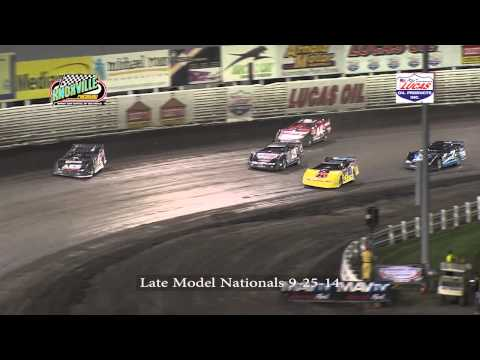 Knoxville Raceway Late Model Nationals 9-25-14