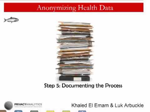 o'reilly-webcast:-anonymizing-health-data